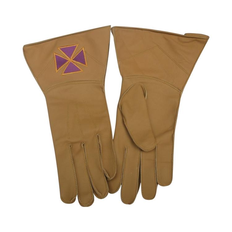 Masonic Gloves With Cross