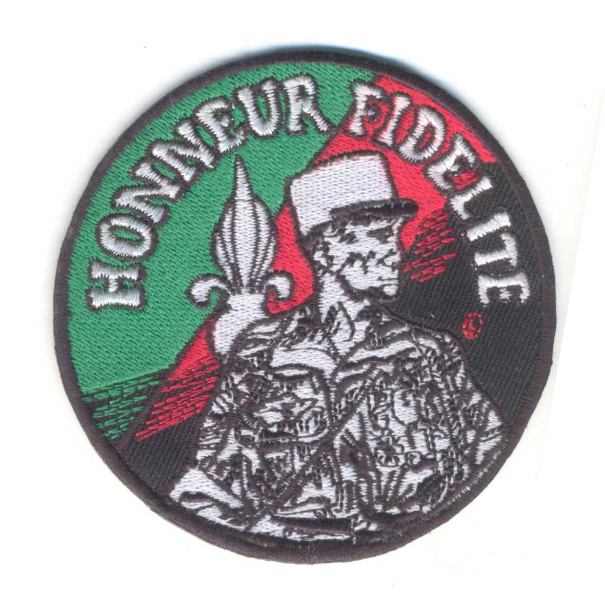 Honneur Fidelite Patch