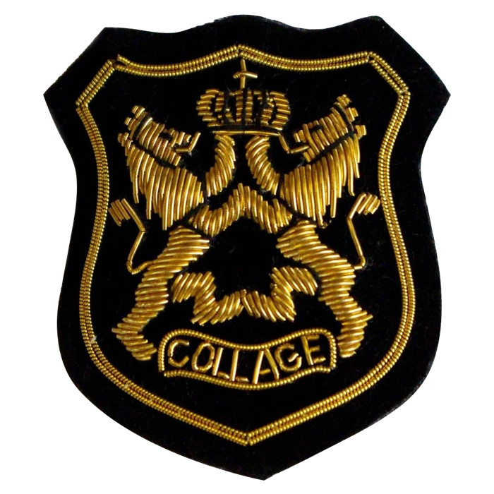 Shield Blazer Badge