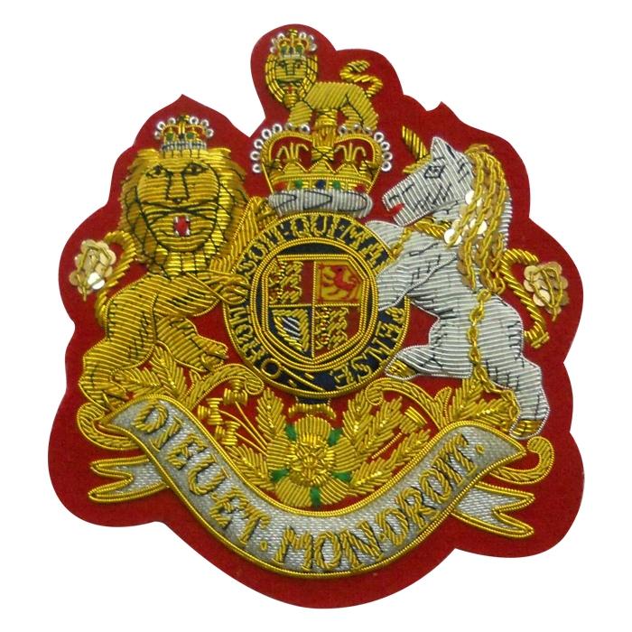 UK Crest Blazer Badges
