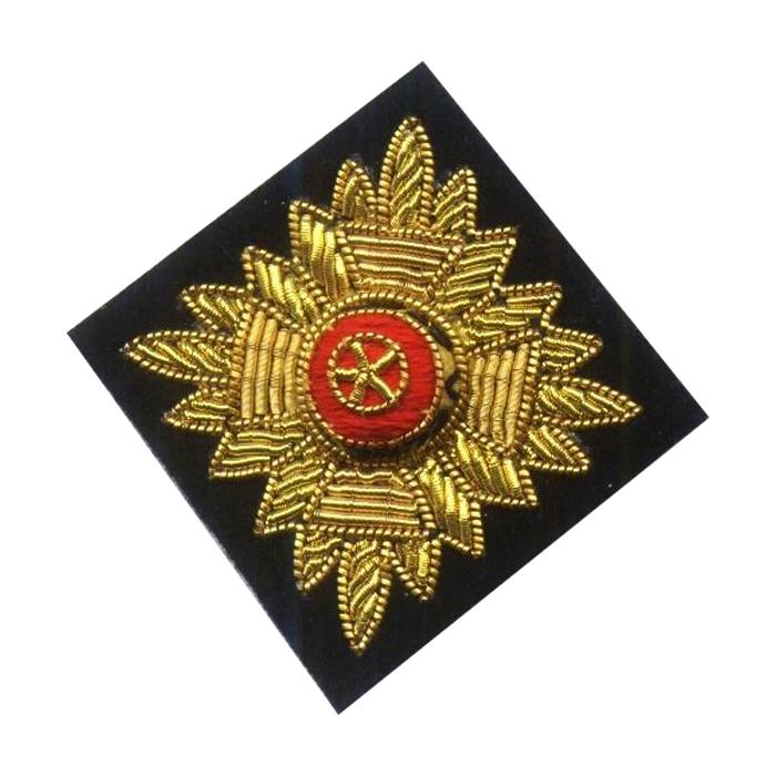 Blazer Badge Button