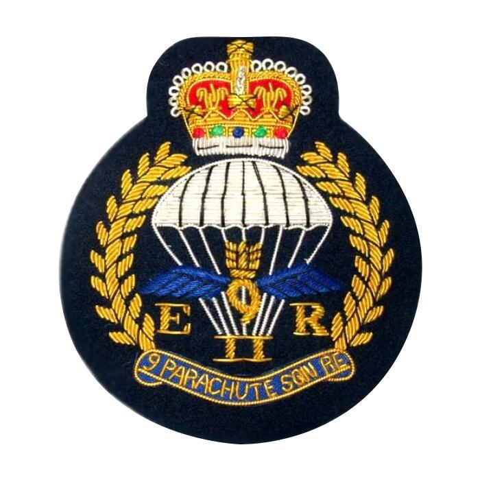 Parachute Blazer Badges