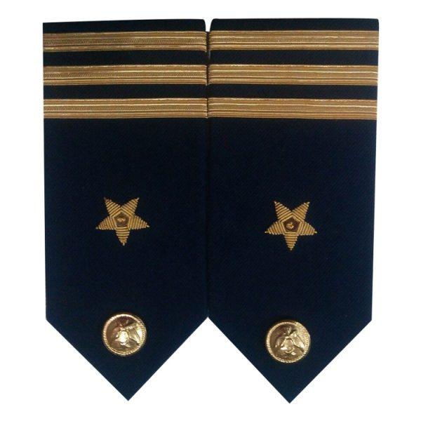 Epaulletes & Shoulders Navy Blue
