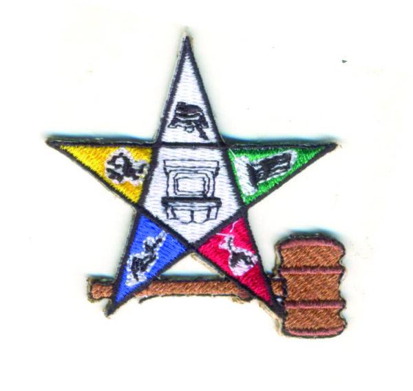 Masonic Star Patch