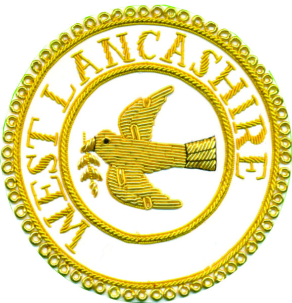 West Lancashire Masonic Badge
